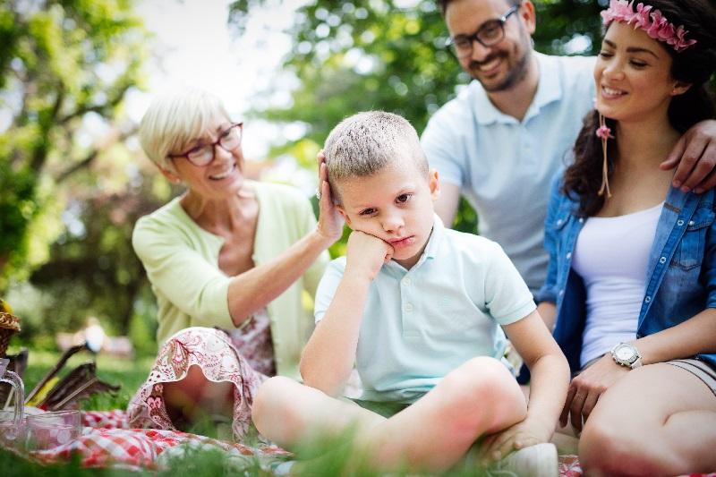 Family Handling Child's Behavior